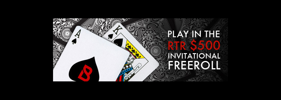 RTR $500 Invitational Freeroll