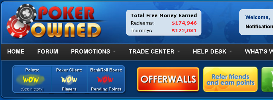 Pokerowned Freeroll Password